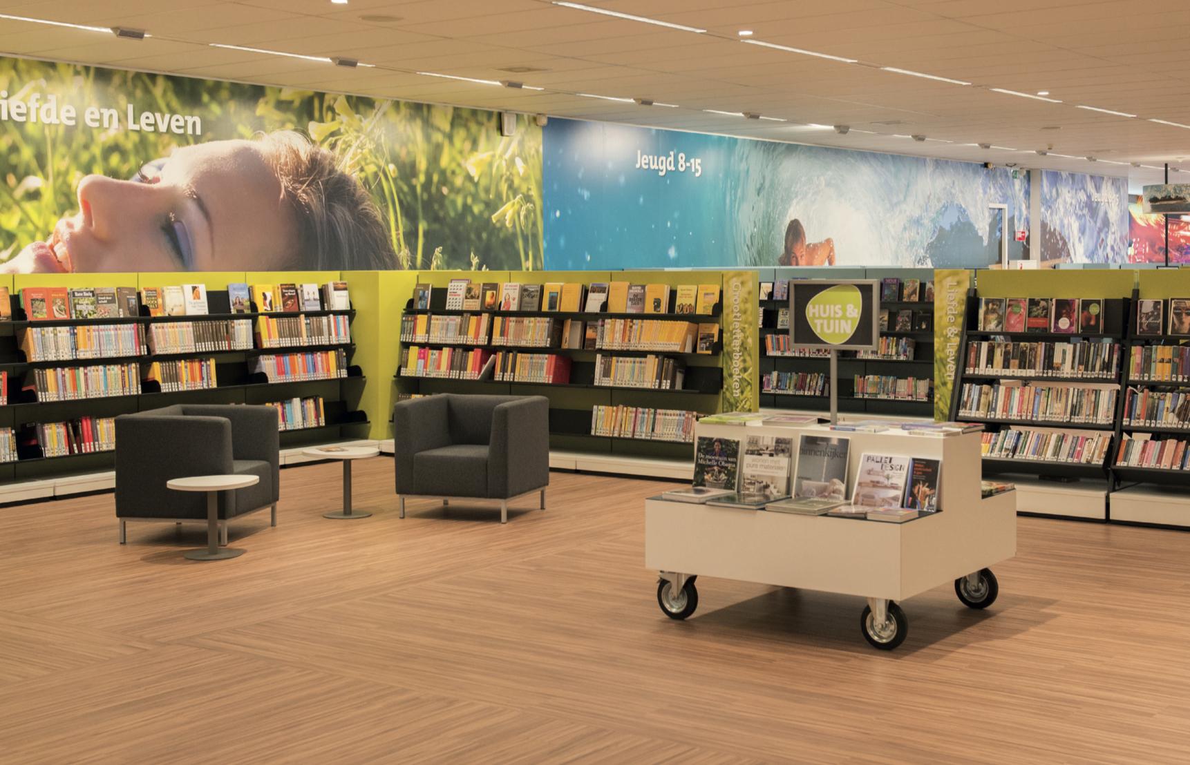 weinig aandacht voor bezuiniging bibliotheek - leidschendam-voorburg.tv