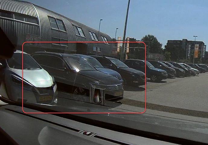 Auto geramd Leidschenveen